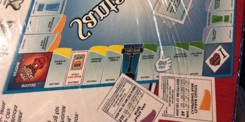 "SANTA BOARD GAME MONOPOLY GAME"""