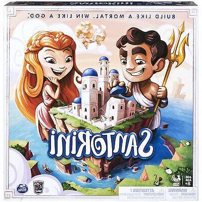 santorini strategy based board game for kids