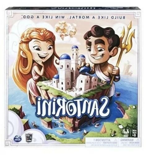 Spin Master Games Santorini - Strategy-Based Board Game