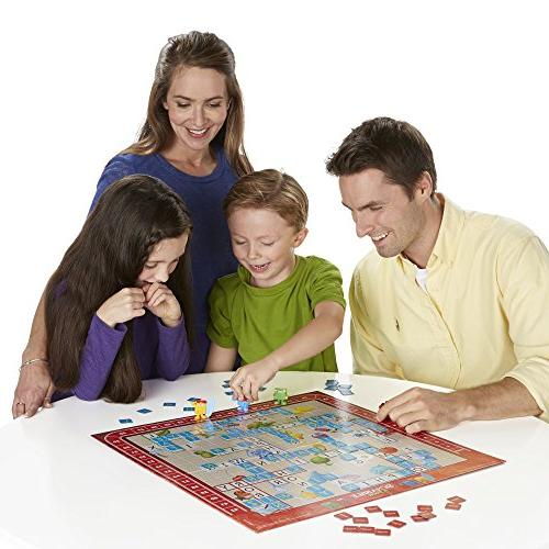 Scrabble Junior Board