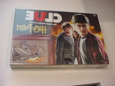 sealed clue harry potter board game