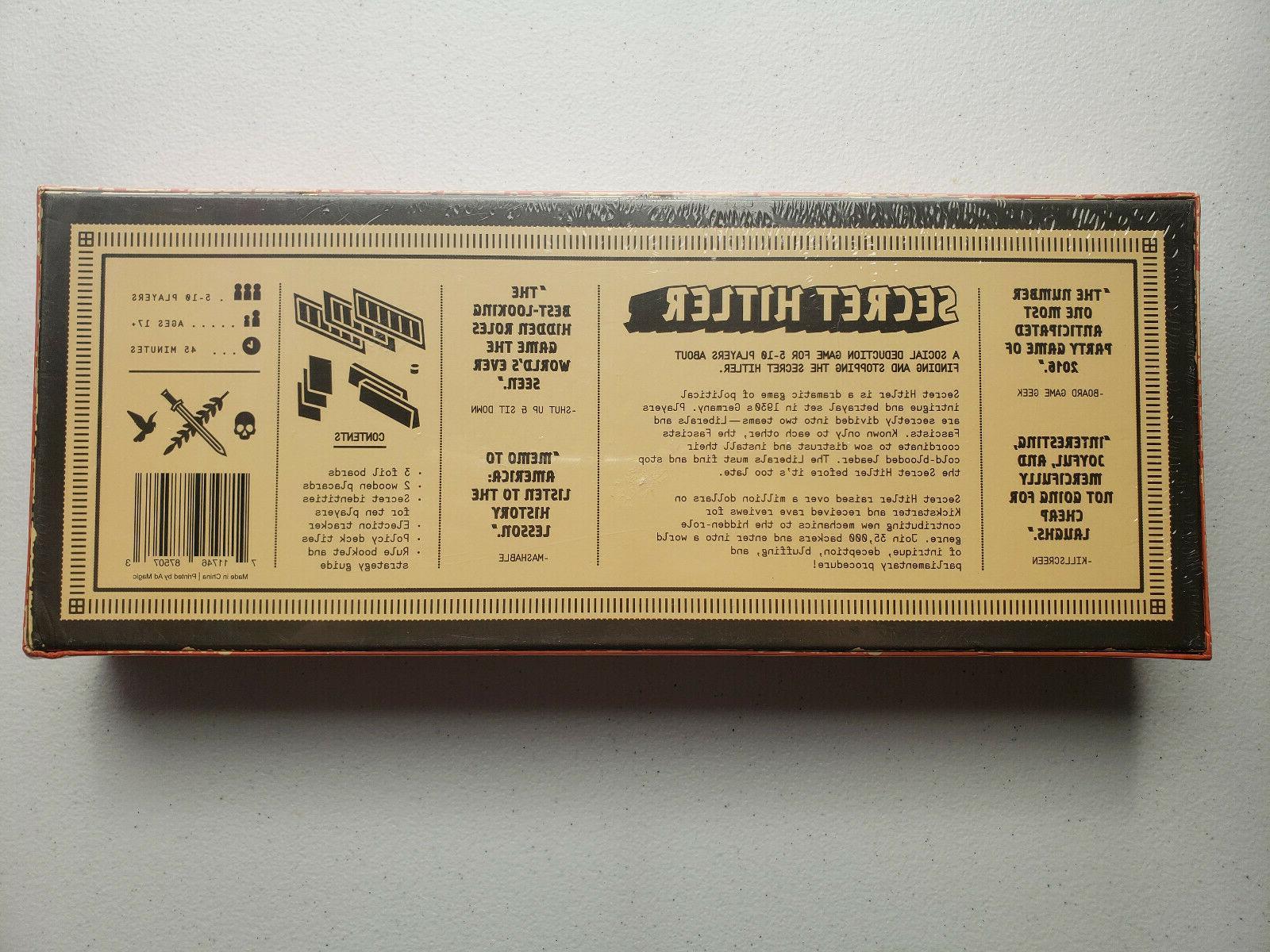 Secret Board Game Sealed