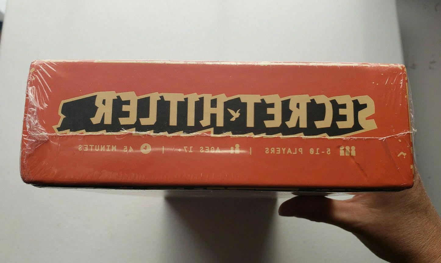 Secret H*tler Fun Board Game New Sealed