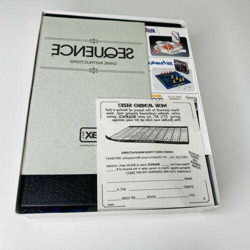 Sequence Board Game Complete Never Been New Box