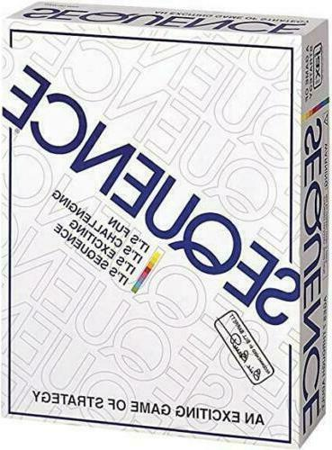 Sequence Board Game by Jax New Sealed    DESK