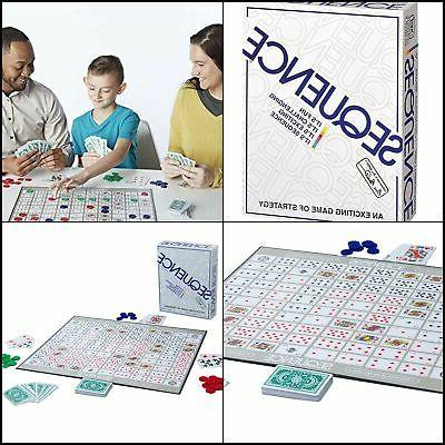 Sequence Game BoardGame Card Children Kids Adults Fun Family