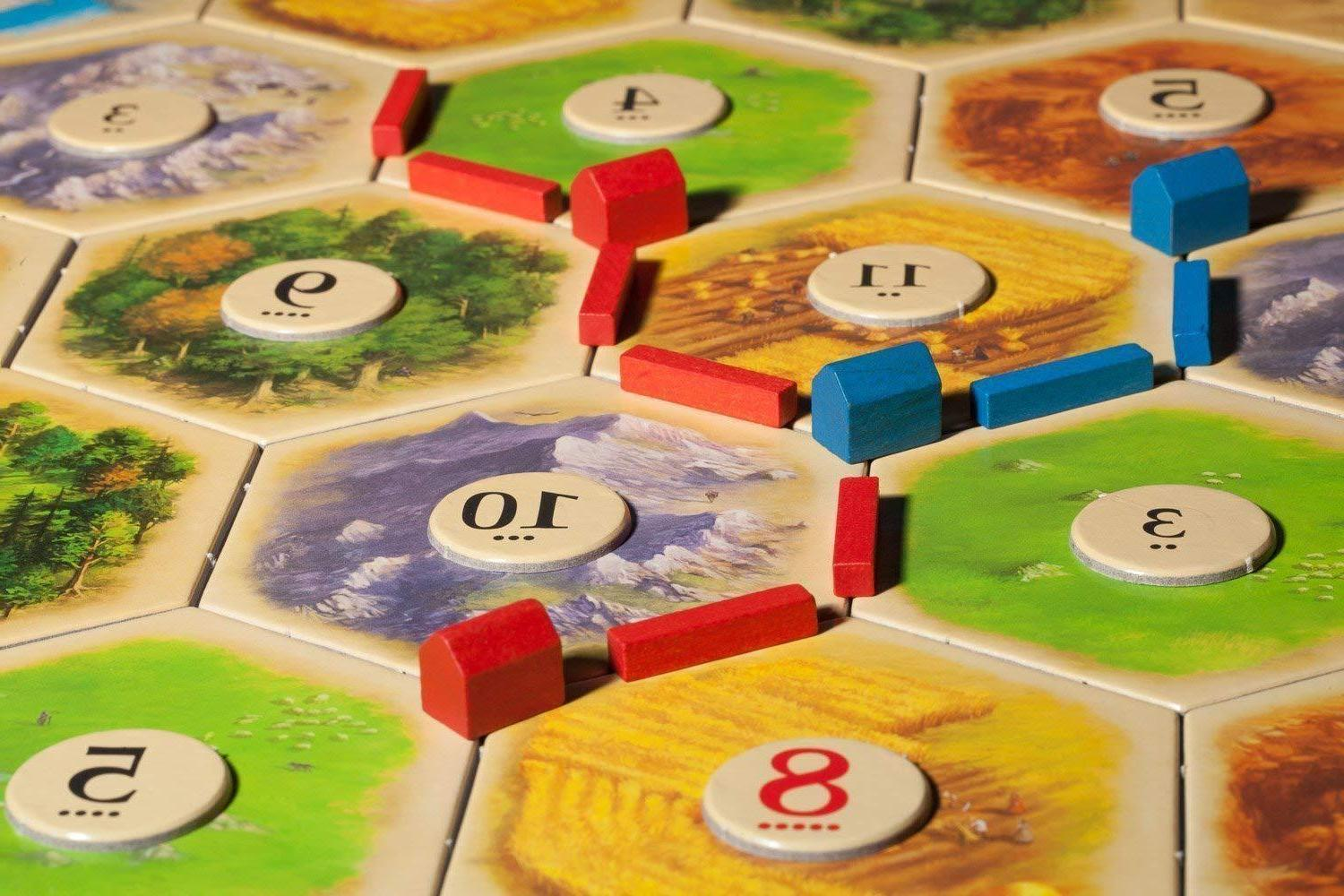 Settlers of Catan Game Player EXTENSION EXPANSION