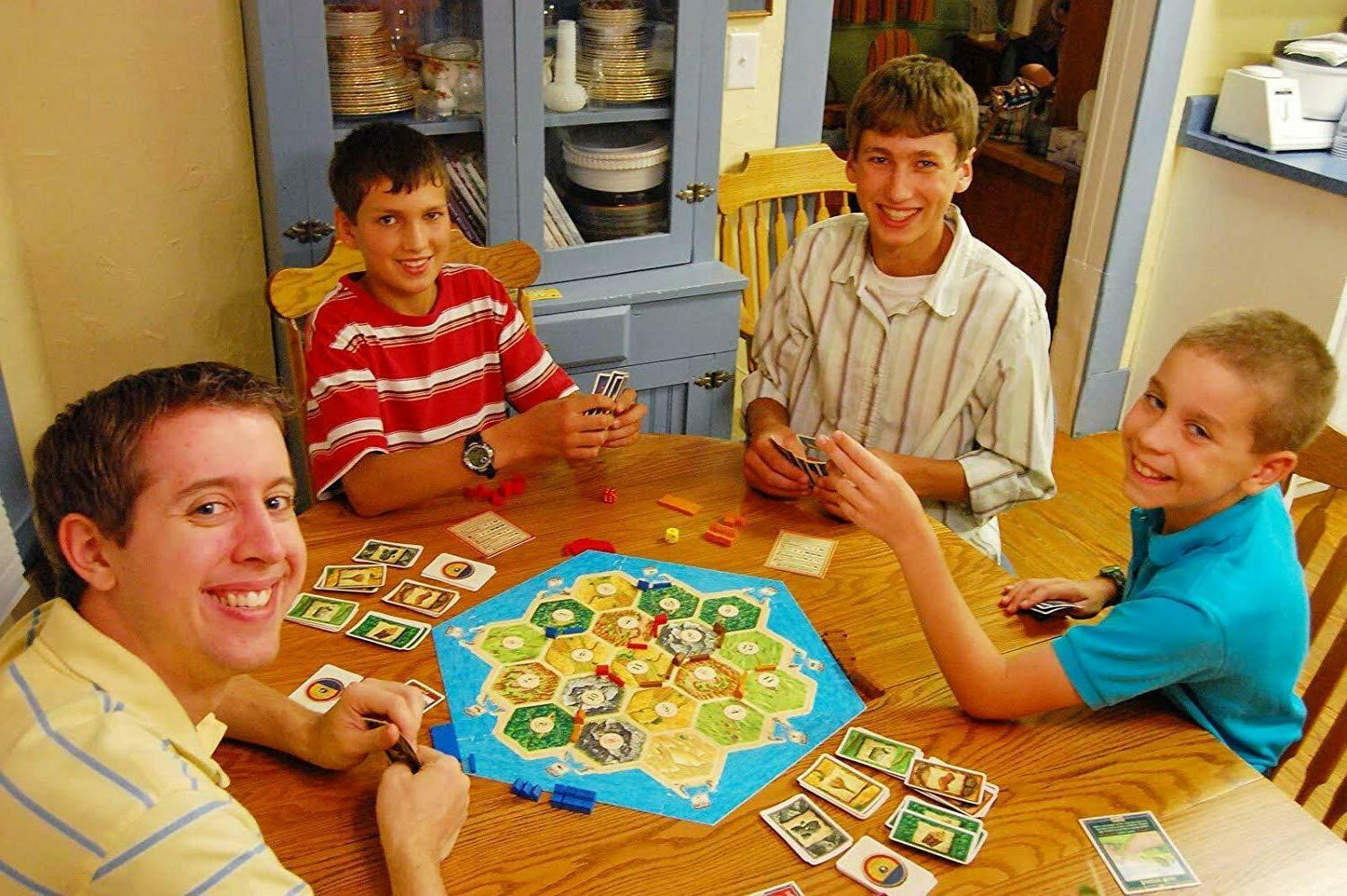 Settlers of 3 or Players Klaus Tueber USA