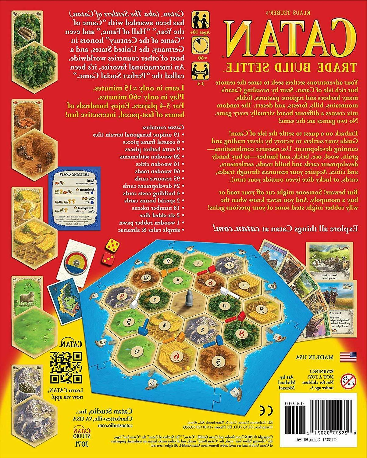 Settlers CATAN 5th Edition Trade 3 4 Klaus Tueber