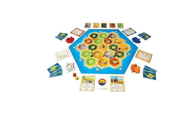Settlers Catan Game Great Uncharted