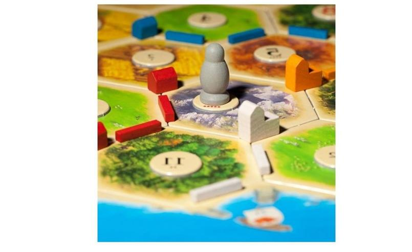 Settlers of Board Game Uncharted Island