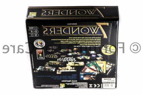 Seven Wonders Board Game SEALED & AUTHENTIC 7Wonders