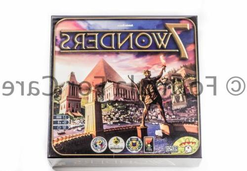 seven wonders rpg official board game new