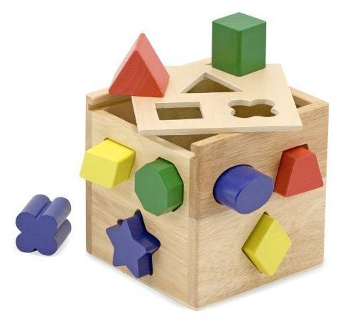 shape sorting cube