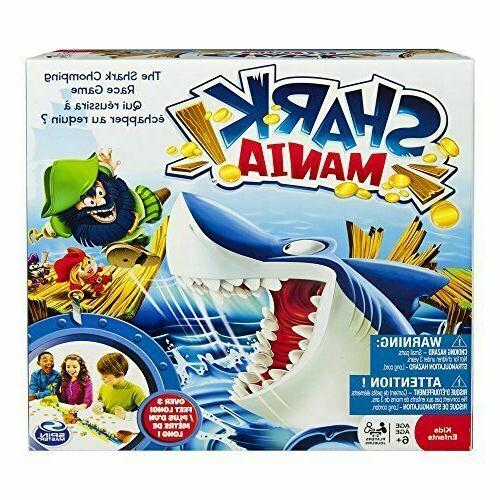 shark mania board game by