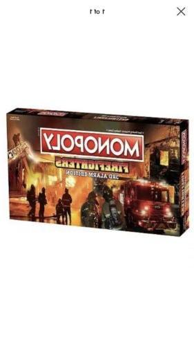 SHIPS Monopoly 3rd Alarm Board