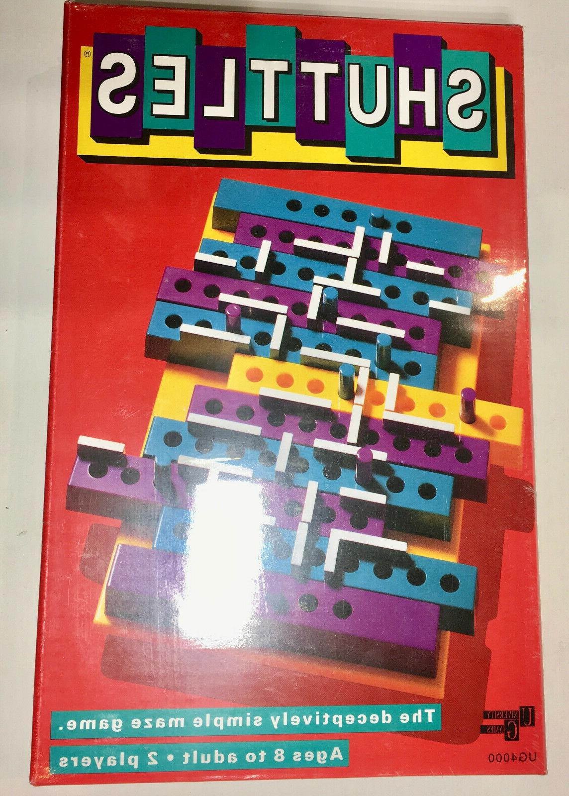 shuttles board strategy maze game 1992 nip