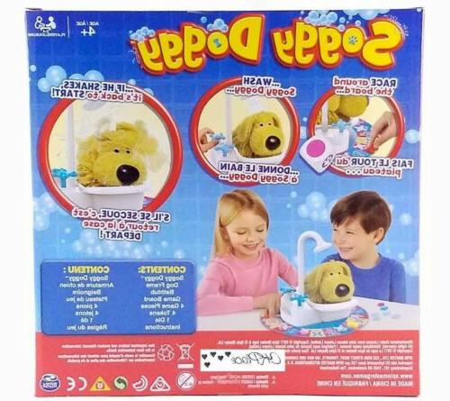 Soggy Doggy Board Game, The Shaking Wet Game Kids 4+ NEW