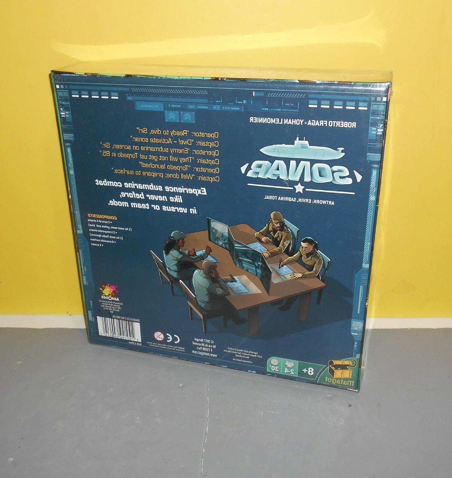 Sonar Game Asmodee Brand New