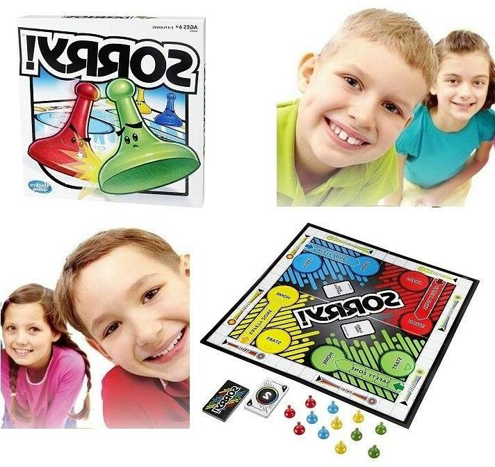 Sorry Game Board Table Games Family Fun Kids Adults Teens To