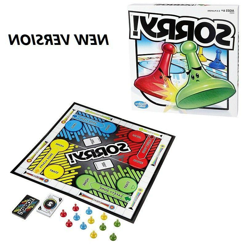 Sorry Game Board Table Games Family Fun Kids