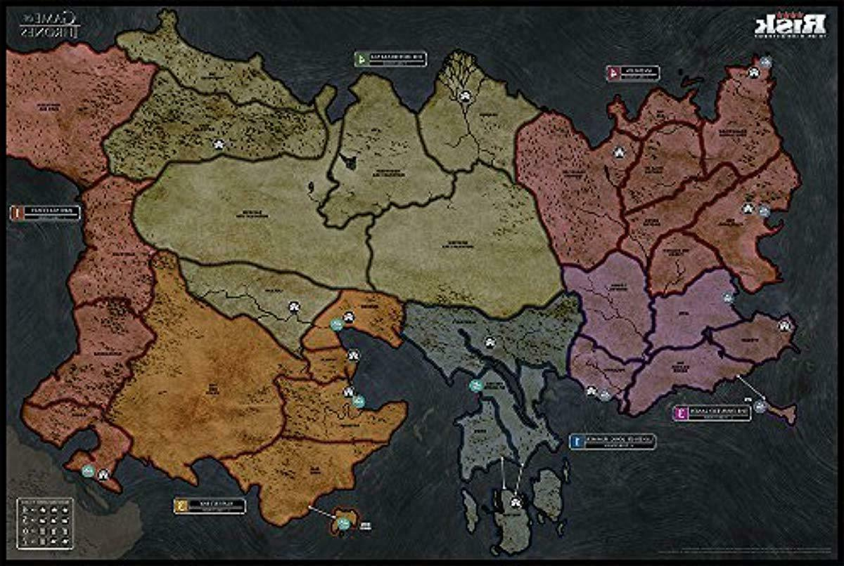USAopoly Game Thrones Strategy   of Thrones