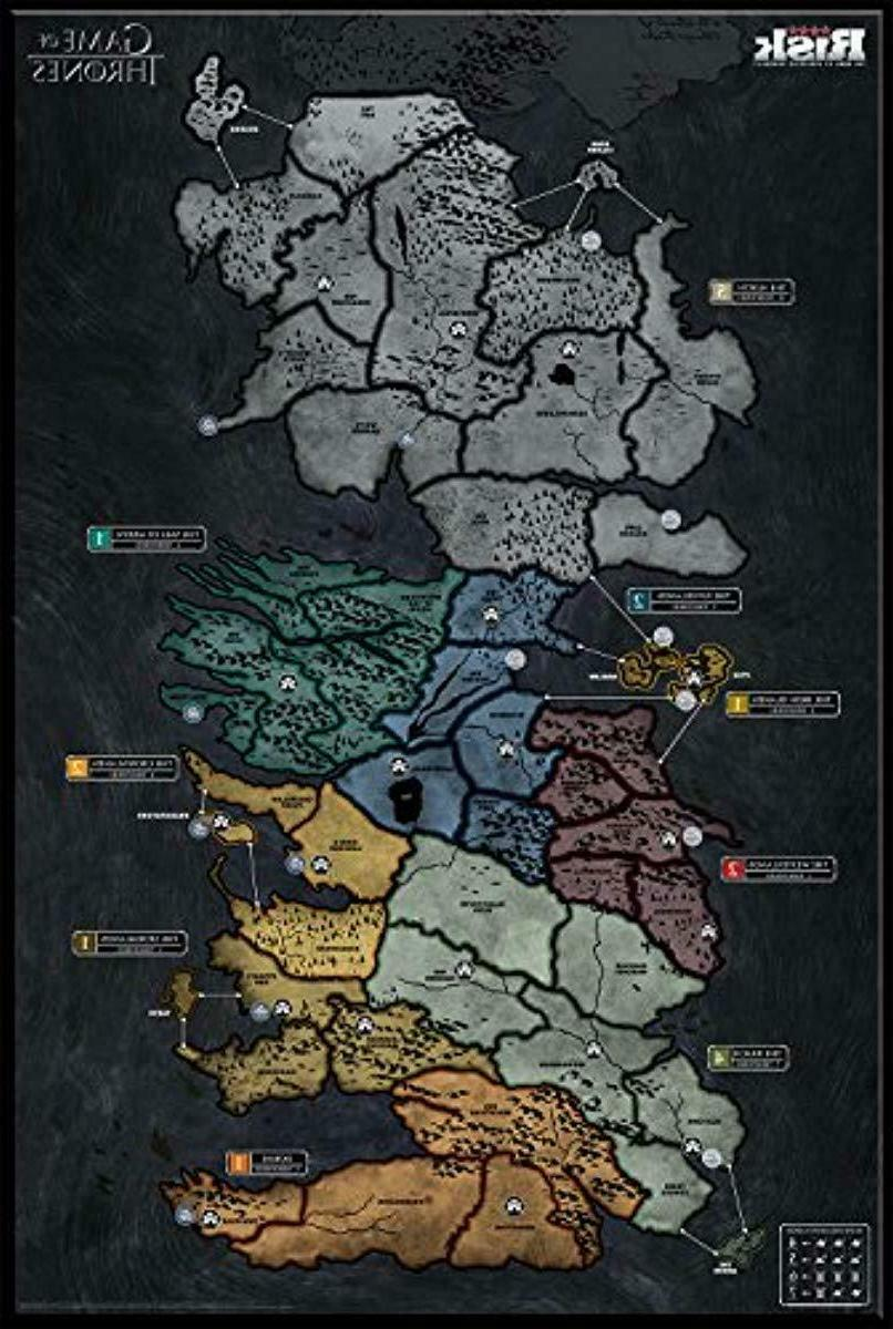 USAopoly Thrones Board   of Fans