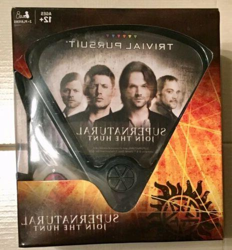 SUPERNATURAL JOIN THE TRIVIAL PURSUIT GAME USAOPOLY BRAND NEW