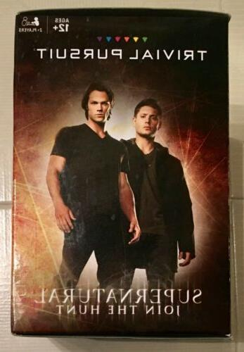 SUPERNATURAL JOIN TRIVIAL PURSUIT BOARD GAME USAOPOLY