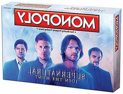 supernatural monopoly collector board game