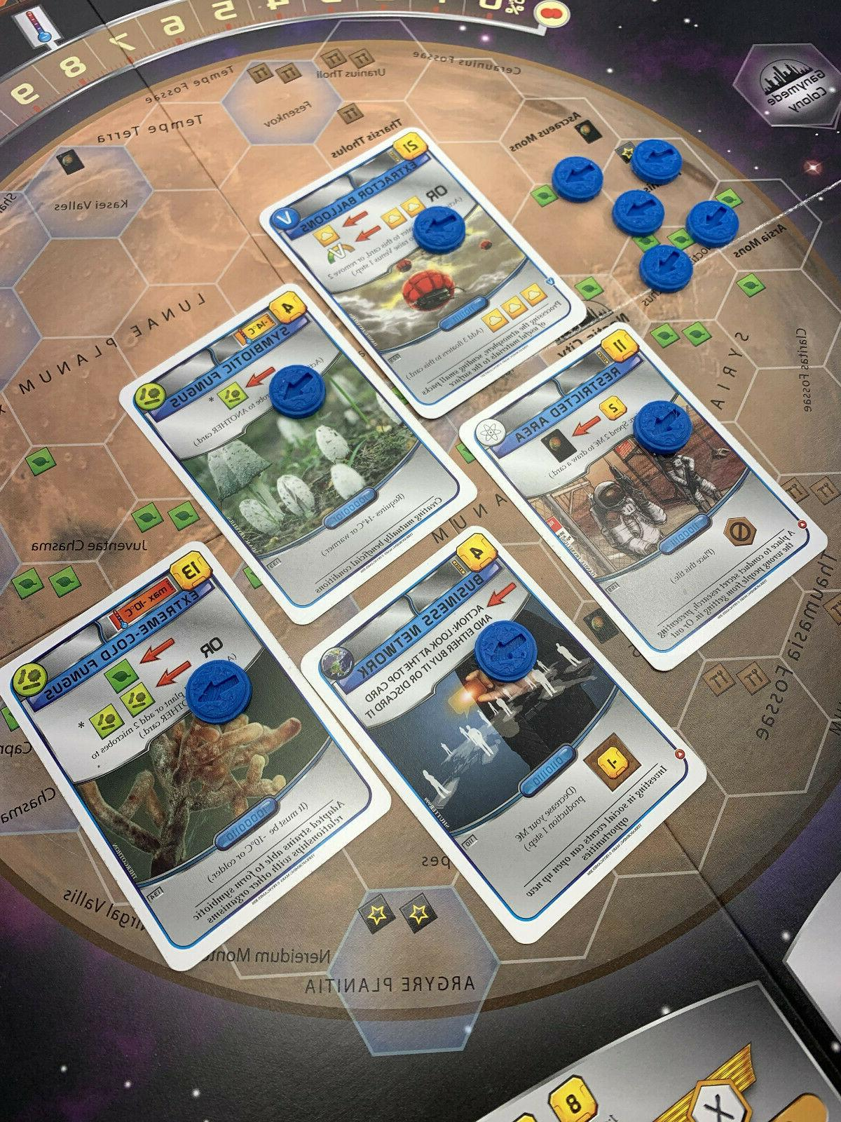 Terraforming - Action Marker Tokens for Action
