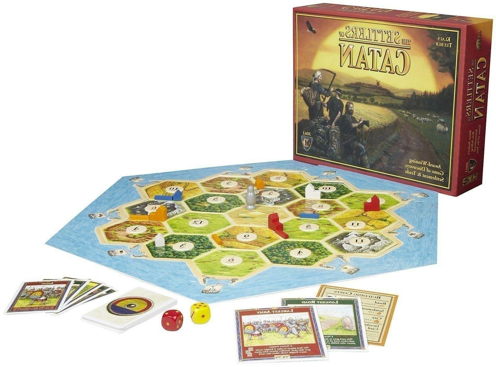 The Settlers Catan Board Game Award Winning Sealed
