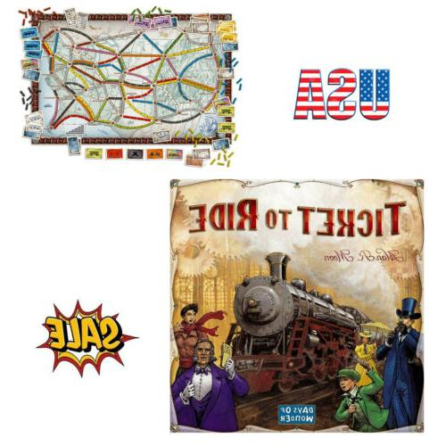 ticket to ride board game cross country