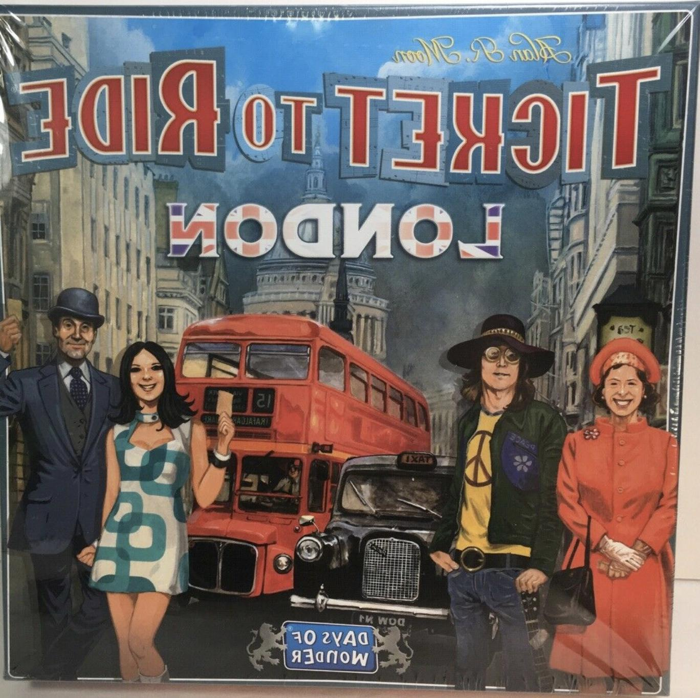 ticket to ride london board game by