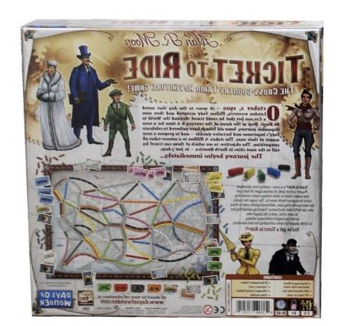 Ticket to Adventure Board Home Free Shipping