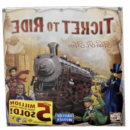 Ticket Adventure Board Game Home Game Gift Free Shipping