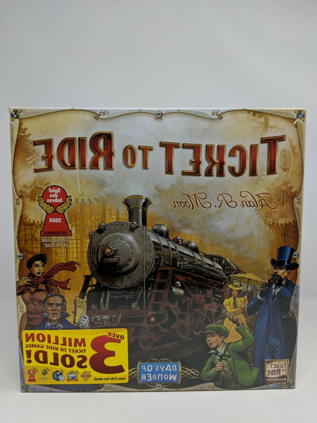 ticket to ride train railroad board game