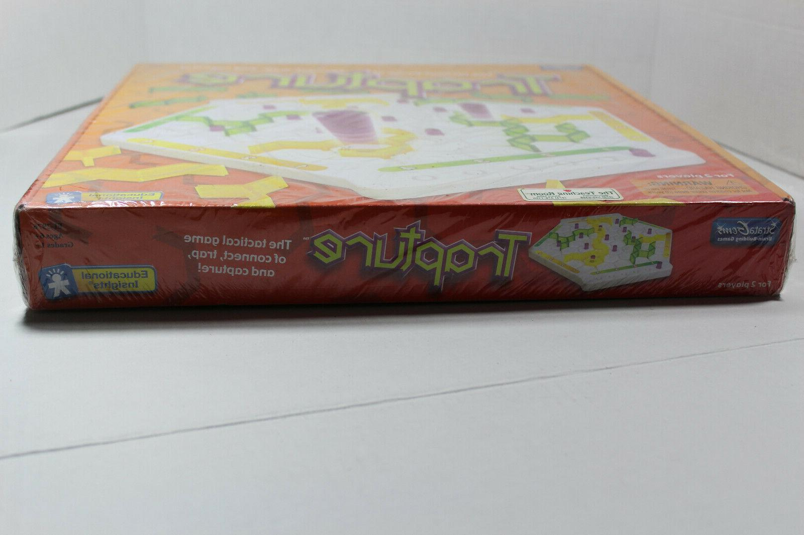 Trapture Educational Insights Board game New Sealed