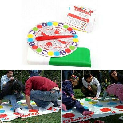 Adult Twister-Game Family Twister-Moves Mat Board