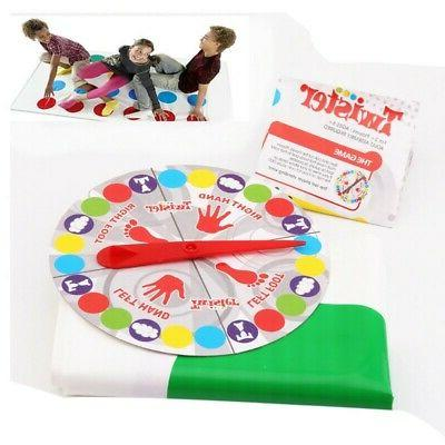 Adult Kid Twister-Game Funny Family Body Twister-Moves Mat B