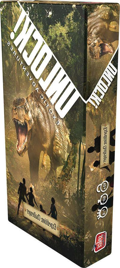 unlock expedition challenger board game factory sealed