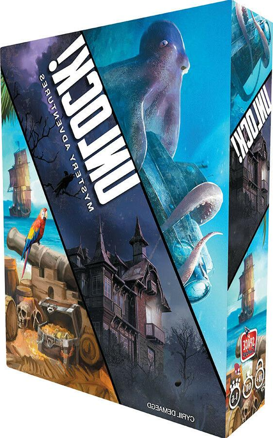 unlock mystery adventures board game factory sealed