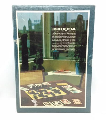 Vintage 1962 Board Aquire High the World Finance 3M
