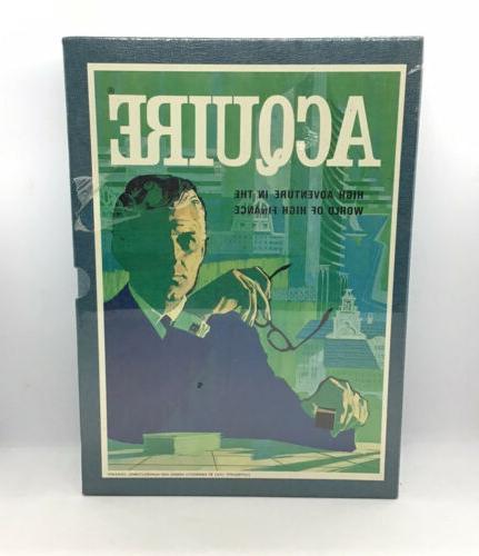 vintage 1962 board game aquire high adventure