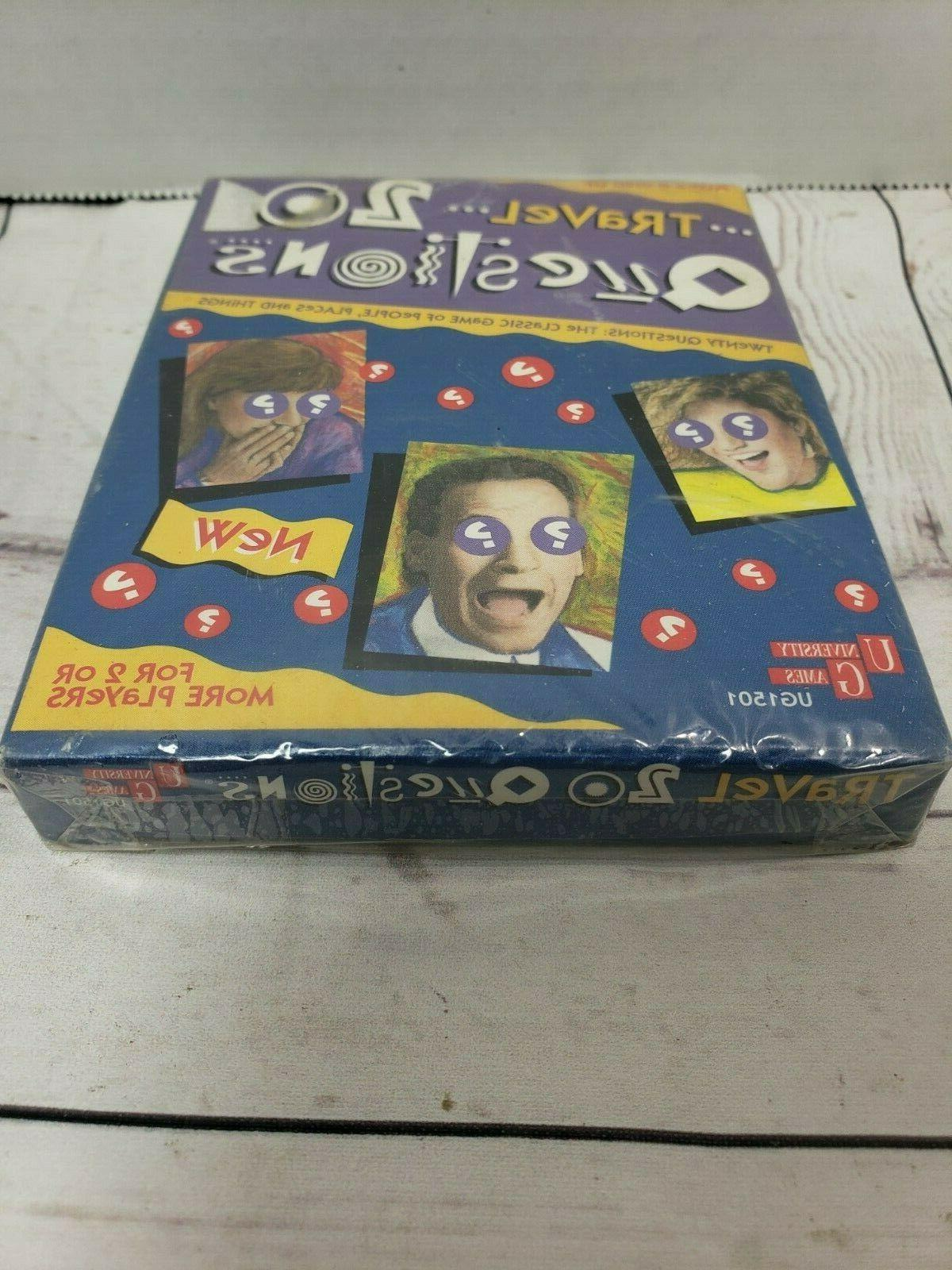 VTG 20 Questions For Kids Game University Games FACTORY