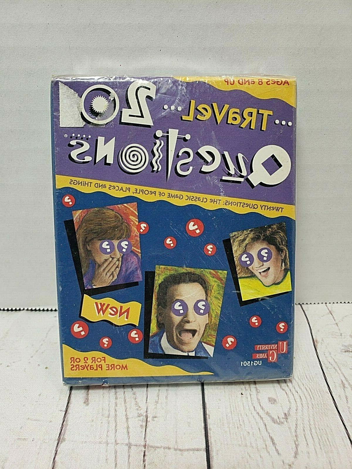 vtg 20 questions for kids board game
