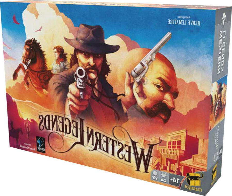 western legends board game brand new factory