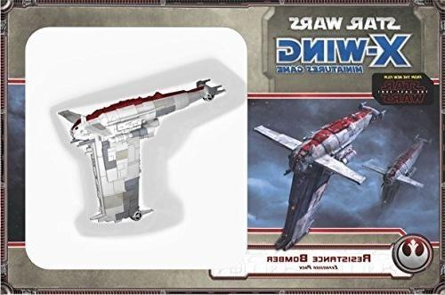 X-Wing Miniatures Game RESISTANCE BOMBER Expansion Pack FFG