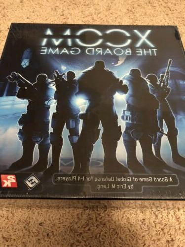 XCOM: The Board - Fantasy Flight Games 1-4 Players - NEW SEALED