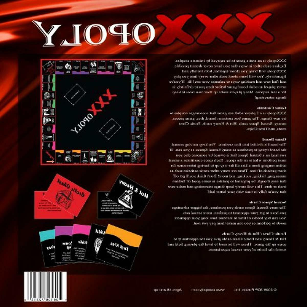 XXXopoly Adult Games 3DP